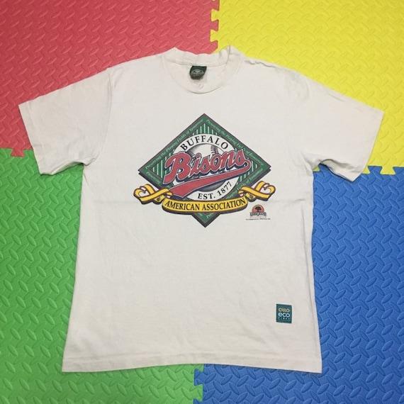 Vintage 90s Buffalo Bisons t shirt