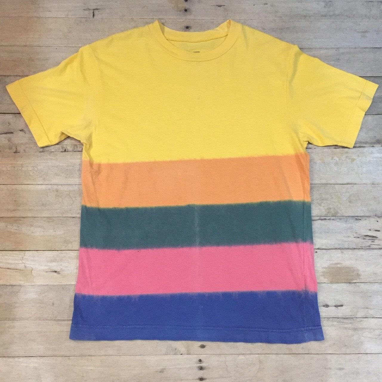 Vtg 90s Benetton Multi Colors Shirt Etsy