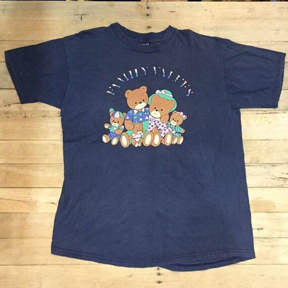 Vtg 90s Family Values Bear shirt