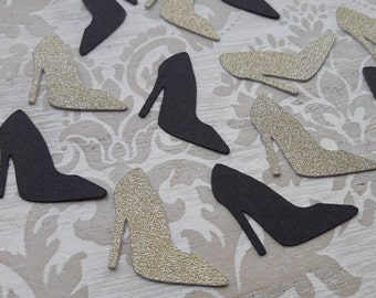 High Heels Shoes Confetti Hen Party Decorations Bachelorette Party Favors 21st Birthday 60th Birthday Party Bridal Shower Favors