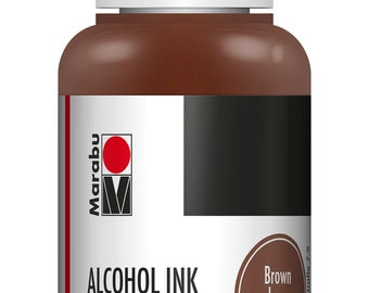 Brown || MARABU ALCOHOL INKS