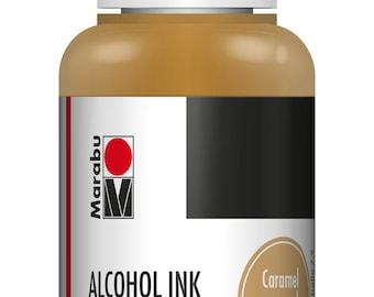 Caramel || MARABU ALCOHOL INKS