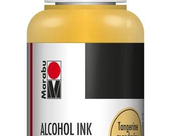 Tangerine    MARABU ALCOHOL INKS