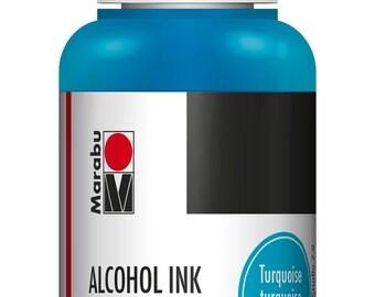 Turquoise || MARABU ALCOHOL INKS