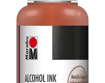 Metallic Copper || MARABU ALCOHOL INKS