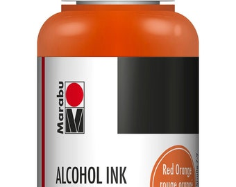 Red Orange || MARABU ALCOHOL INKS