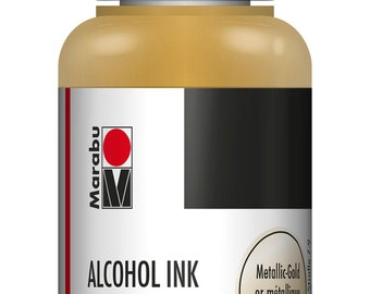 Metallic Gold || MARABU ALCOHOL INKS