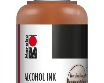 Metallic Bronze || MARABU ALCOHOL INKS