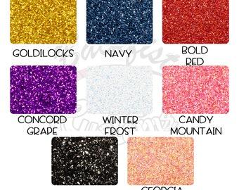 Glitter Sample Pack A: 8 1/2oz Jars