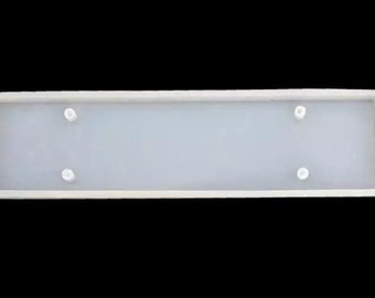 SMALL RECTANGLE DOOR Sign Mold 10in x 2.6in || 1 Silicone mold