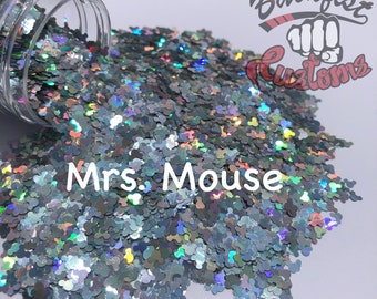 MRS MOUSE || Shaped Glitter