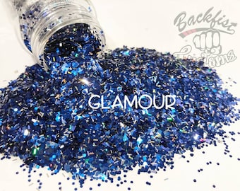 GLAMOUR || Opaque Chunky Mix, Solvent Resistant