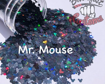 MR MOUSE || Shaped Glitter