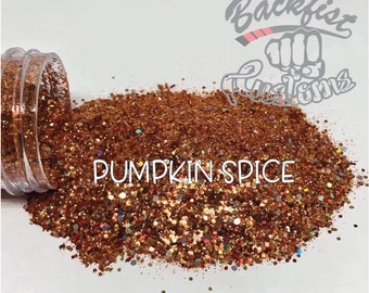 PUMPKIN SPICE ||  Mixed Seasonal Glitter, Solvent Resistant