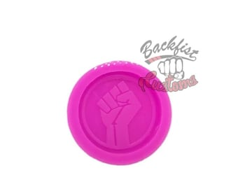 FIST PHONE HOLDER mold    1.5 inch Silicone mold