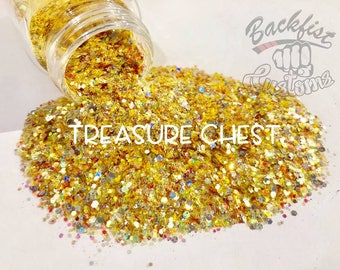 TREASURE CHEST || Transparent Chunky Mix, Solvent Resistant