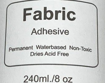 Glitter FABRIC Adhesive - Shipping may be delayed due to cold weather