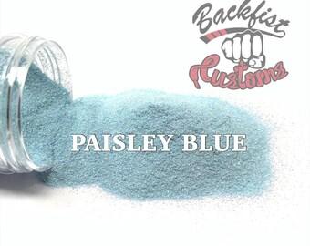 PAISLEY BLUE || Opaque Fine Glitter