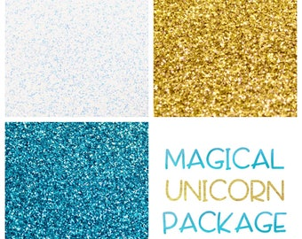 Magical Unicorn Themed Glitter Package