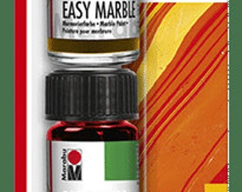 SUNRISE TRIAL Set || Marabu Easy Marble