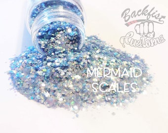MERMAID SCALES || Chunky Mix, Solvent Resistant