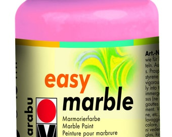 Rose Pink || MARABU Easy MARBLE PAINT