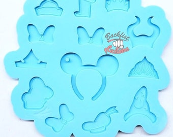 MOUSE HEADBAND PALETTE Keychain mold || 1  Silicone mold