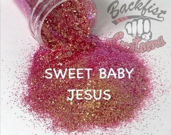 SWEET BABY JESUS || Opaque Fine Glitter, Solvent Resistant