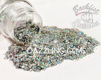 DAZZLING GEMS || Opaque Chunky Glitter