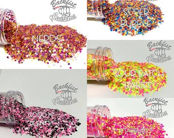 All Dots Glitter Package B 5oz total