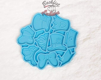 Set of 2 HAT PALETTES    2  Silicone molds