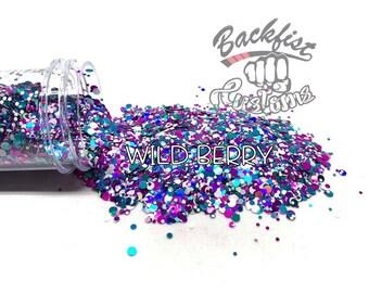 WILD BERRY DOTS || Multi Shaped  Glitter Dots