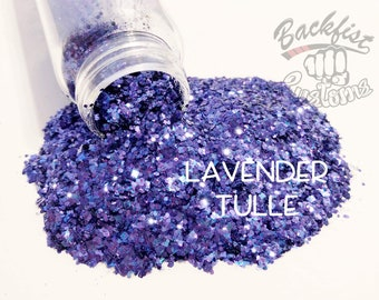 LAVENDER TULLE || Chunky Mix, Solvent Resistant