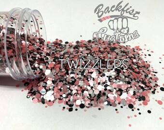 TWIZZLERS DOTS || Multi Shaped  Glitter Dots
