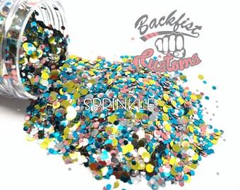 SPRINKLE DOTS || Multi Shaped  Glitter Dots