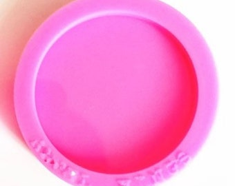 ROUND PHONE HOLDER mold || 1.5 inch Silicone mold
