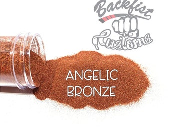 ANGELIC BRONZE || Holographic Micro Fine Glitter, Solvent Resistant
