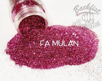 FA MULAN  || Opaque Fine Glitter, Solvent Resistant