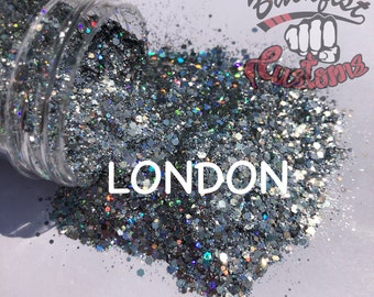 LONDON || Cosmetic Blend custom mix ( Silver Paris )