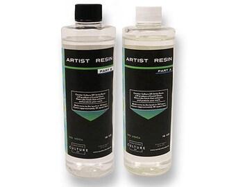 Artist Resin Original (Thick Viscosity ) Epoxy 32 oz Kit