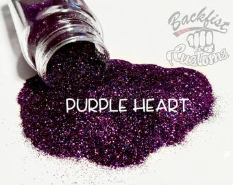 PURPLE HEART  || Opaque Fine Glitter, Solvent Resistant
