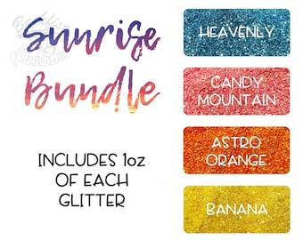 Sunrise Themed Glitter Package