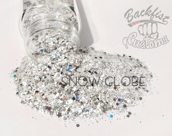 SNOW GLOBE ( new formula ) || Chunky Mix, Solvent Resistant
