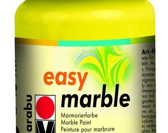 Lemon || MARABU Easy MARBLE PAINT