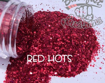 RED HOTS || Chunky Mix, Solvent Resistant