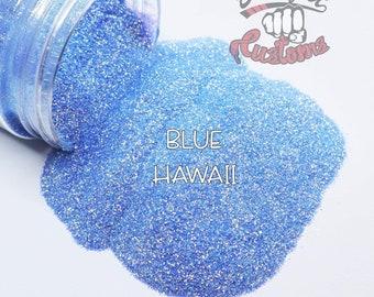 BLUE HAWAII  || TRANSPARENT Fine Glitter, Solvent Resistant