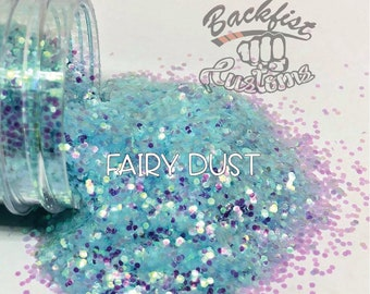 FAIRY DUST  || Solvent Resistant, Fine Opal Glitter