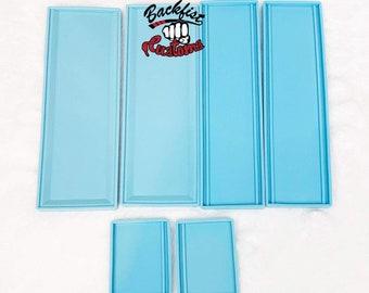 DOMINOES BOX Mold 7.75in x 2.75in