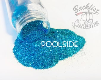 POOLSIDE || Opaque Fine Glitter, Solvent Resistant