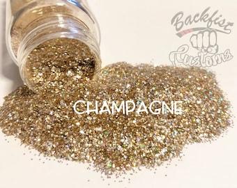 CHAMPAGNE || Chunky Glitter